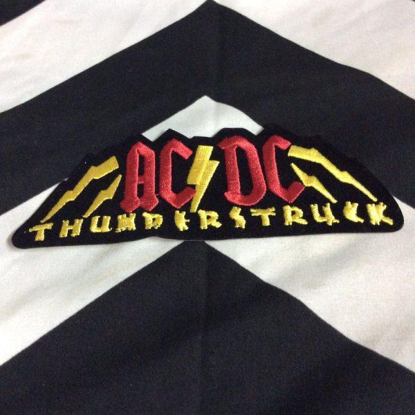 BW Patch ACDC Thunder Struck 1