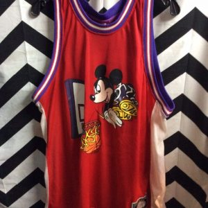 Disney Basketball Jersey Mickey Slam Dunking 1