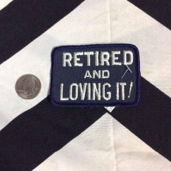 PATCH- RETIRED LOVING IT! *OLD STOCK* 1