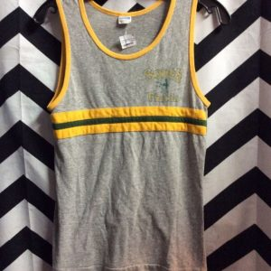 TANK CHEST STRIPE SOUTH FLORIDA YELLOW 1