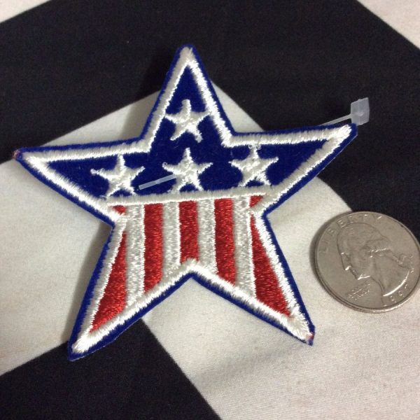 Patch American Flag Star Patch *old stock 2