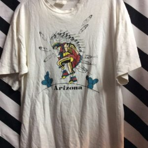 TSHIRT ARIZONA DANCING NATIVE AMERICAN CHIEF 1