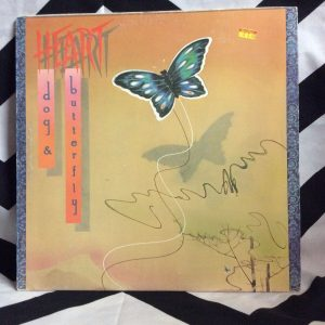 VINYL HEART DOG AND BUTTERFLY LP 1