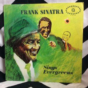 VINYL FRANK SINATRA SINGS EVERGREENS LP 1
