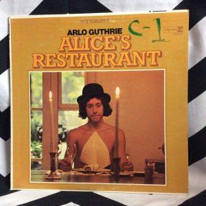 VINYL ARLO GUTHRIE ALICE'S RESTAURANT LP 1