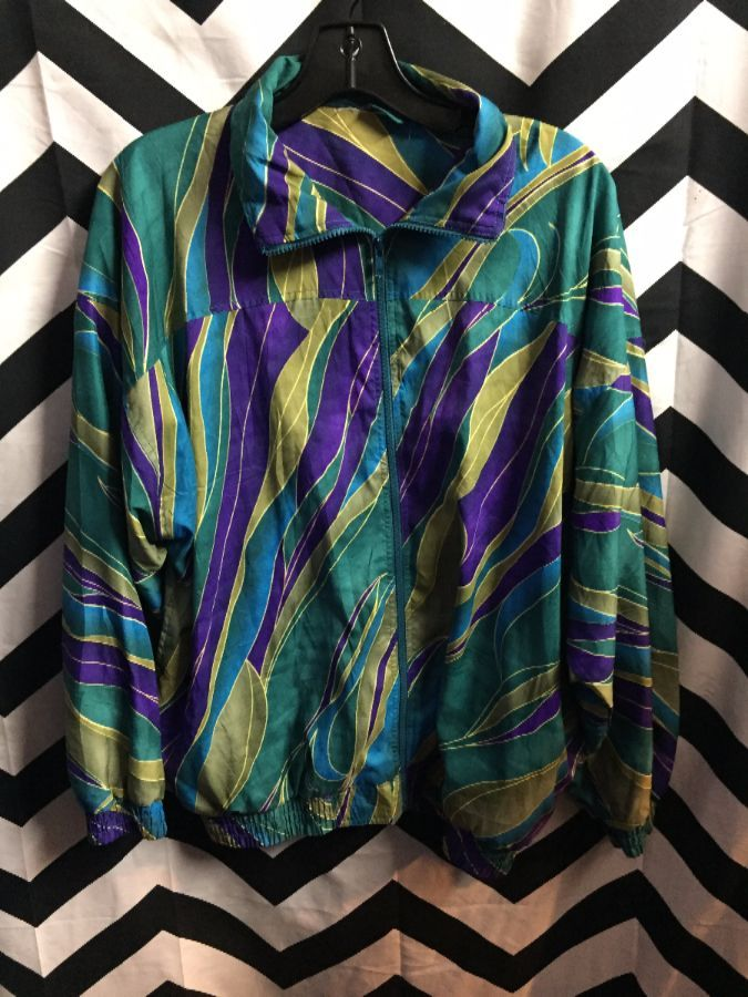 WINDBREAKER SILK FUNKY PRINT 1