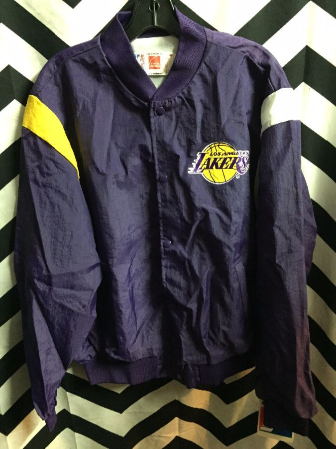 NBA Los Angeles Thin button up jacket deadstock w/ tags 1