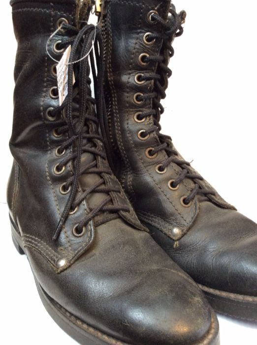 HARLEY DAVIDSON LACE UP BOOTS LEATHER 1