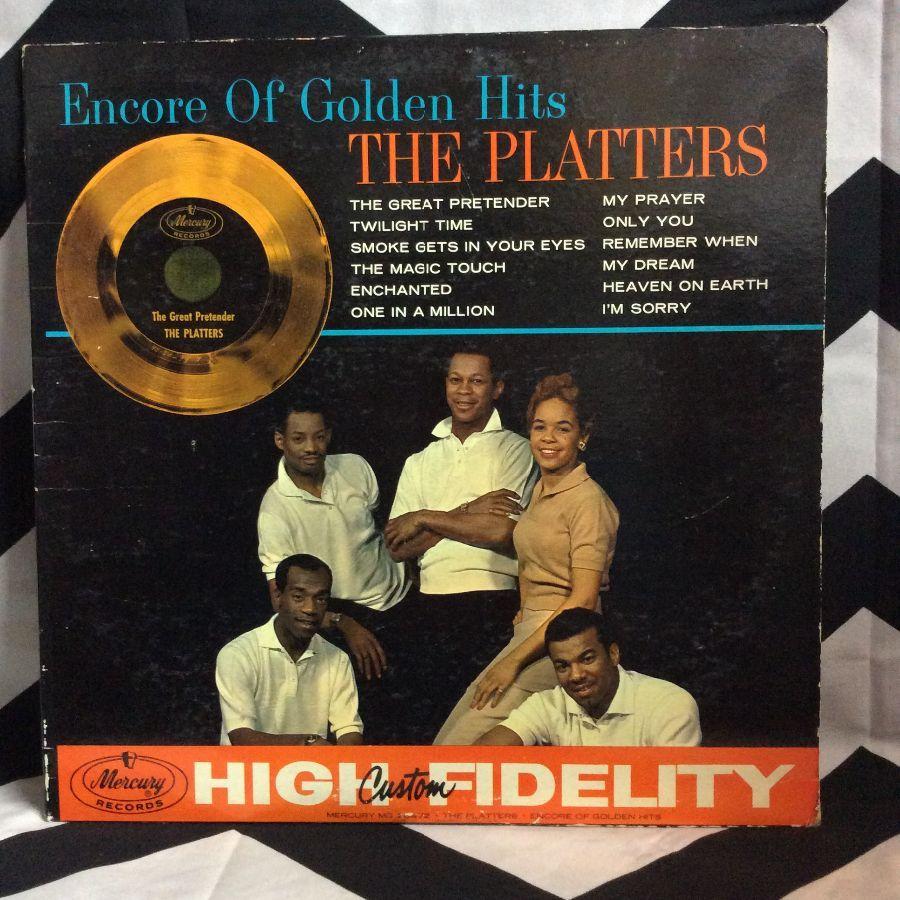 VINYL THE PLATTERS - ENCORE OF GOLDEN HITS 1