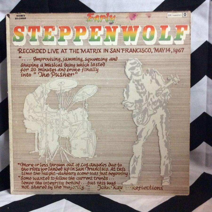 VINYL STEPPEN WOLF - EARLY 1