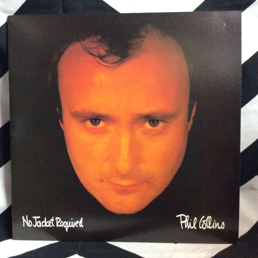 VINYL PHIL COLLINS - NO JACKET REQUIRED 1