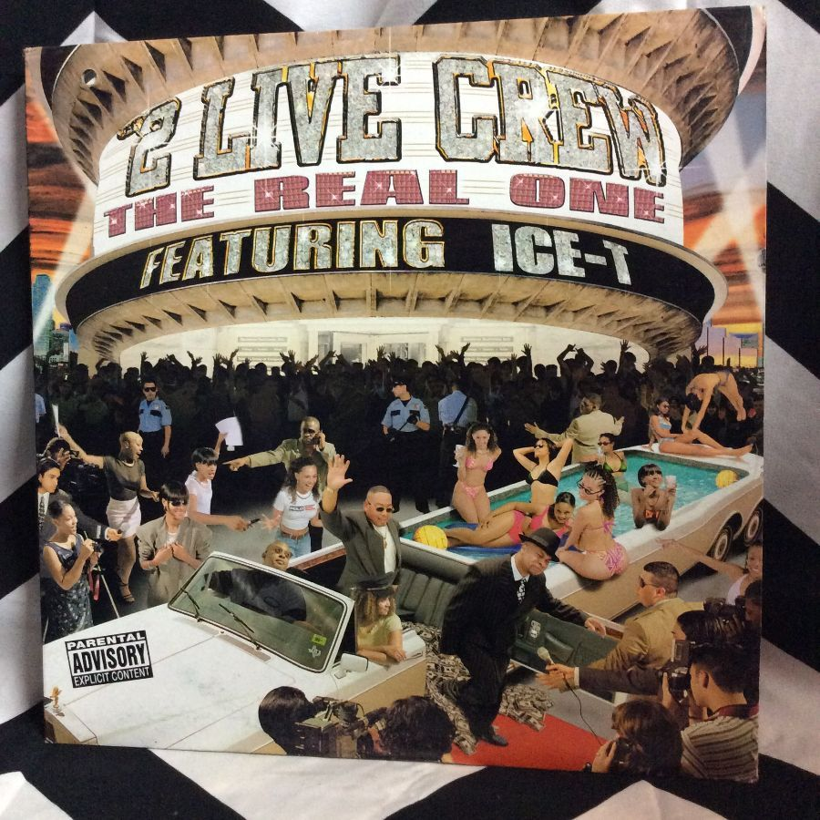 VINYL 2 LIVE CREW FEAT. ICE T - THE REAL ONE SINGLE 1