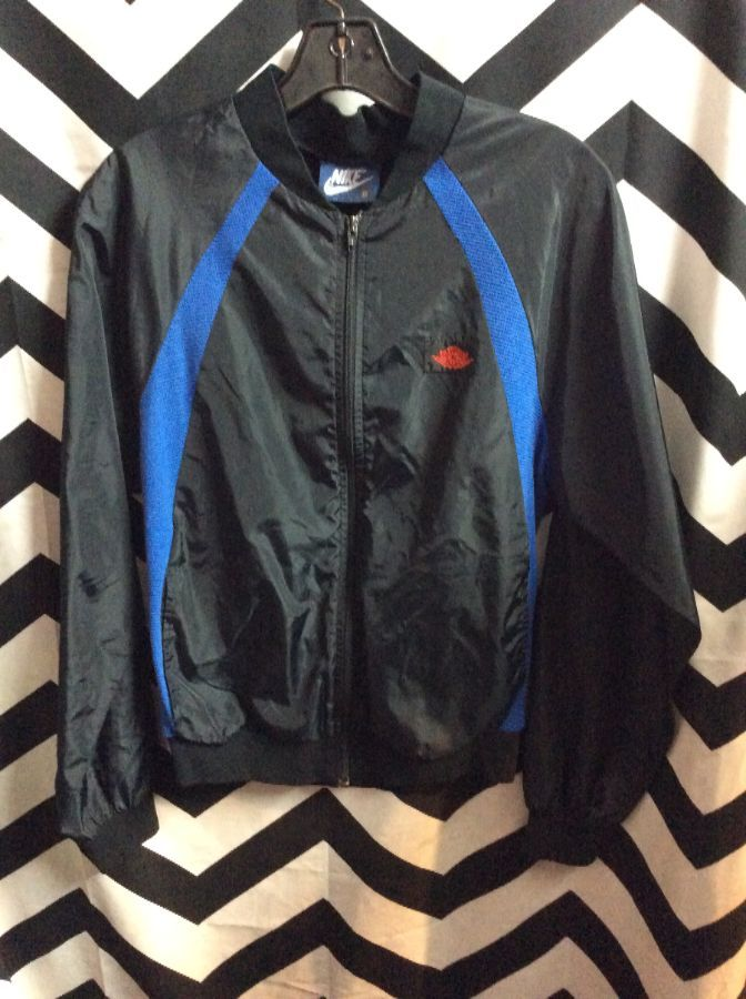 RETRO NIKE WINDBREAKER AIR JORDAN BLUE TAG 1