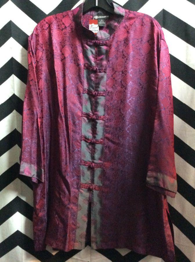 Shirt Chinese Mock Neck BD 11-75 1