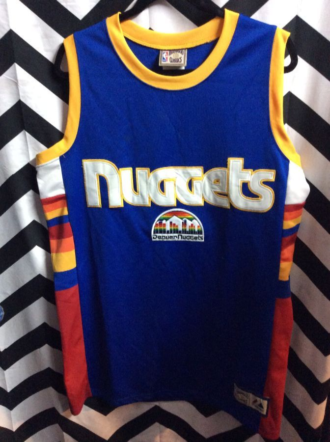 NBA Denver Nuggets Hardwood classic Throwback Jersey 1