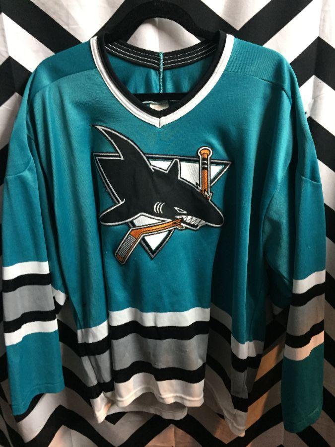 NHL San Jose Sharks jersey as-is 1