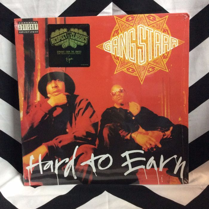 BW VINYL GangStaar Hard to Earn 1