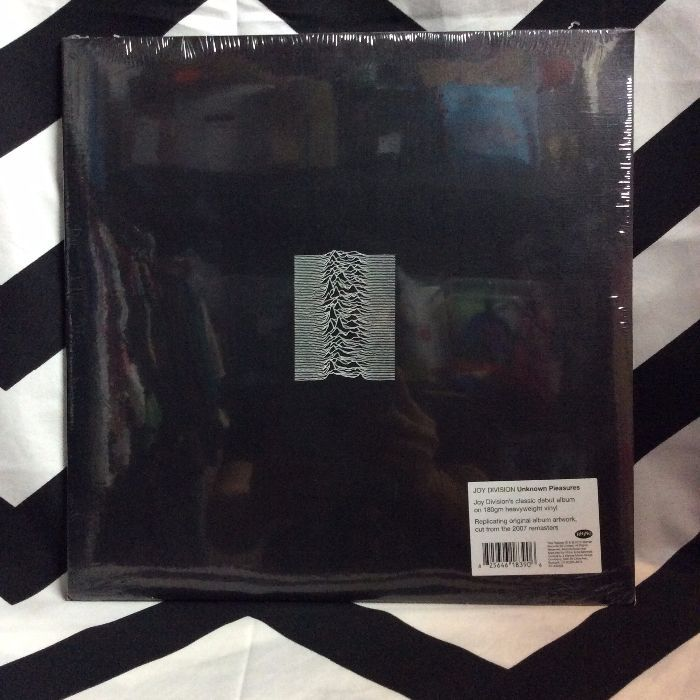 BW VINYL Joy Division Unknown Pleasures 1