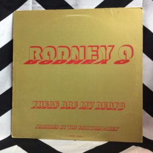 VINYL RODNEYO - THESE ARE MY BEATS SINGLE 1