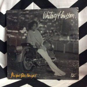 VINYL WHITNEY HOUSTON - I'M YOUR BABY TONIGHT SINGLE 1