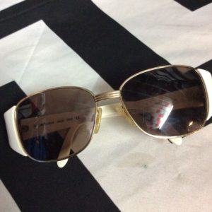 Vintage 1970s Yves Saint Laurent Sunglasses Made In Italy 1