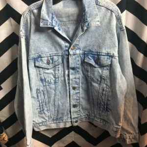 Perfect Levis Acidwash denim jacket as-is 1