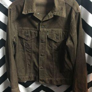 Levis Brown Corduroy jacket 1