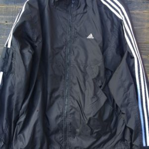 ADIDAS TRACK JACKET WINDBREAKER THREE STRIPES DOWN THE SLEEVES 1