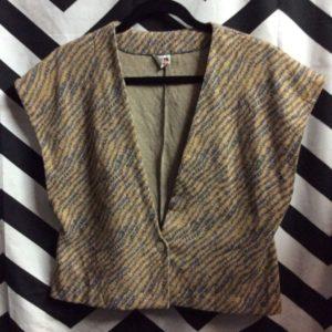 tiger print cotton vest 1