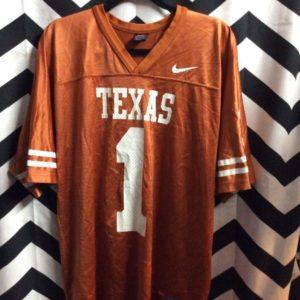 NCAA University of Texas Longhors football jersey #1 1