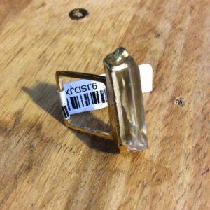 SQUARE RING CRYSTAL- QUARTZ sample 1