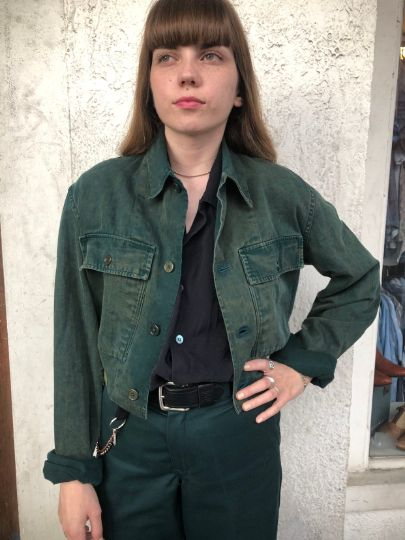 RECONSTRUCTED VINTAGE ARMY JACKET