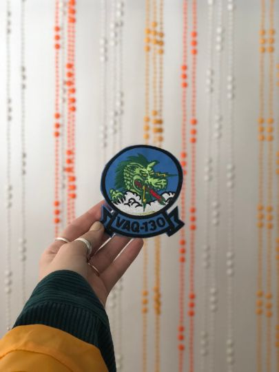 Vintage Military Patch- DRAGON VAQ-130