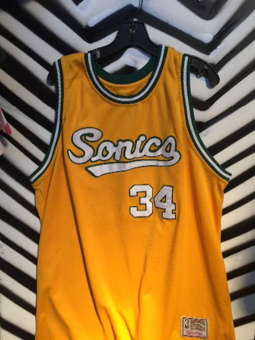 the best attitude b6556 f4f1f Ray Allen Sonics Jerseys