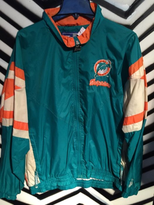finest selection bda53 abd6a Miami Dolphins Teal Starter Jacket