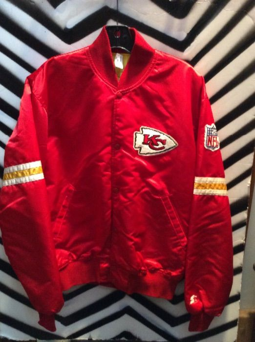 » Chiefs Vintage Kc Red Jacket Starter Boardwalk