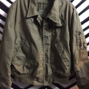 US ARMY MILITARY BOMBER JACKET 1