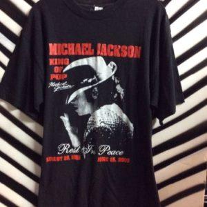 Tshirt Michael Jackson King of Pop 1