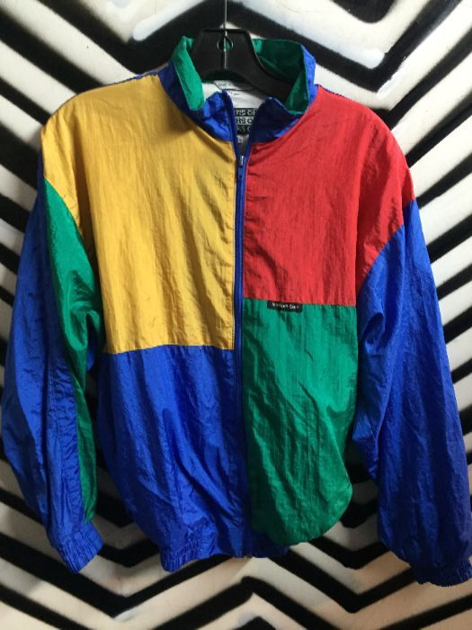 newest d27d6 29238 COLORBLOCK WINDBREAKER SMALL FIT MEMBERS ONLY 1