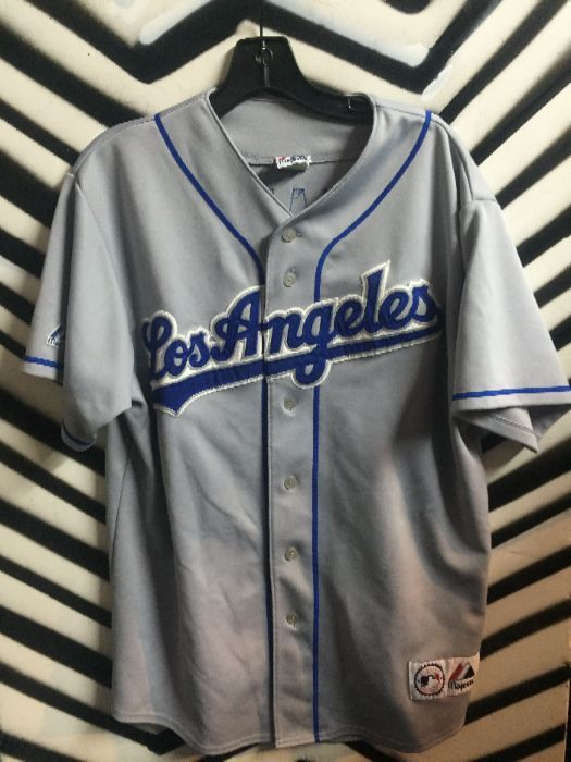 748aefc8 LA Dodgers Garcia Parra #5 Baseball Jersey » Boardwalk Vintage