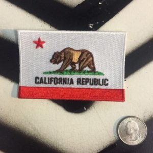 PATCH- CALFORNIA REPUBLIC STATE FLAG 1