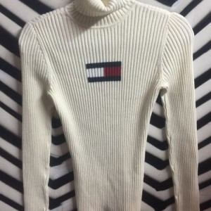 TOMMY HILLFIGER pullover ribbed sweater 1