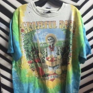 TSHIRT GRATEFUL DEAD- KEEP IT GREEN 1