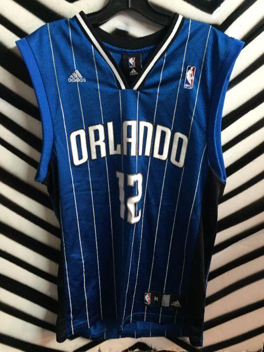 san francisco 69e6b 0ad1d Orlando Magic - Dwight Howard #12 Basketball Jersey