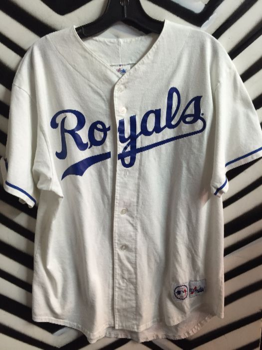new concept 24f6a d5293 KC Royals Baseball Jersey