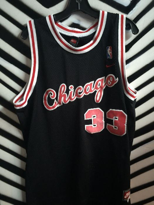 the best attitude 73643 4b660 CHICAGO BULLS SCOTTY PIPPEN #33 BASKETBALL JERSEY