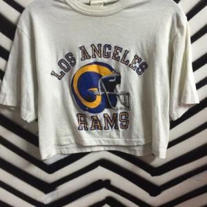 TSHIRT CROPPED LOS ANGELES RAMS as-is 1