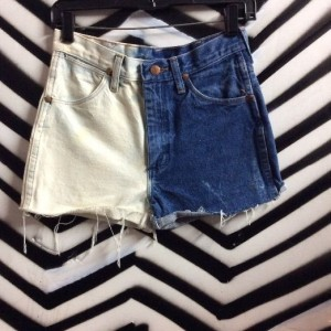 Shorts Bleached Two Toned 1