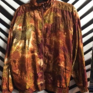 WINDBREAKER JACKET SAFARI PRINT 1