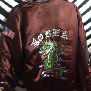 Burgandy bomber jacket Korea Jacket 3